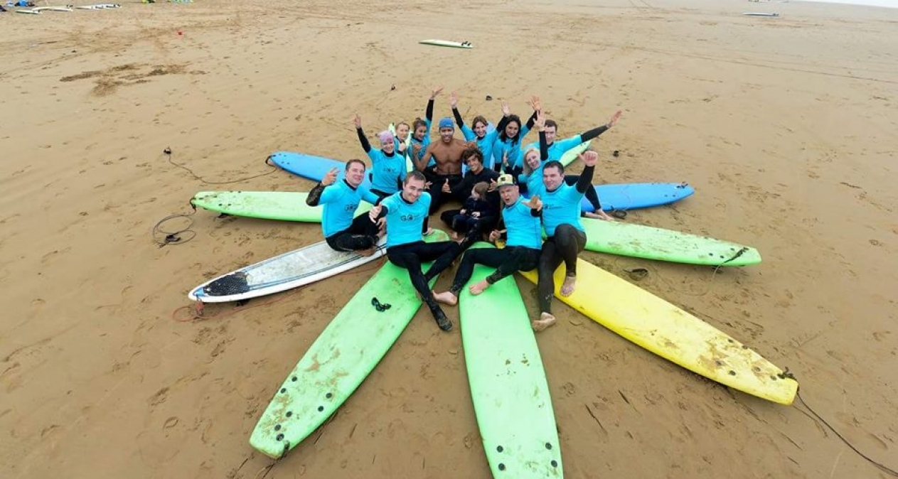 Join our surf course